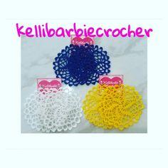 Brincos de crocher