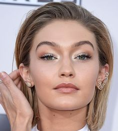 Gigi Hadid arrives at the 2015 American Music Awards at Microsoft Theater on November 22 2015 in Los Angeles California