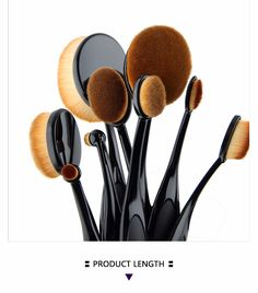 women quotes Beginne New 10pcs set brand JKING Tooth Brush Shape Oval Makeup MULTIPURPOSE Professional Foundation Powder Brush Kits with Box -- Find out more on AliExpress website by clicking the image