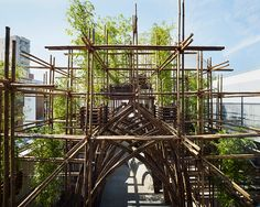 bamboo architecture, sustainable construction and design news