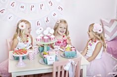 Strawberry Collection Package from The TomKat Studio- $100 value    Full Set of Strawberry Collection Printables   2 sets of Pink striped plates   1 set of pink striped napkins   2 packs pink with dark pink dot cups   2 packs red/white striped favor bags   1 pack ballerina pink straws   2 pink and one white balloon  2 sets Strawberry baskets