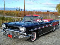 1958 Pontiac Parisienne..Re-pin brought to you by agents of #Carinsurance at #HouseofInsurance in Eugene, Oregon