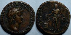 Nero As - 64 AD.   RIC 220