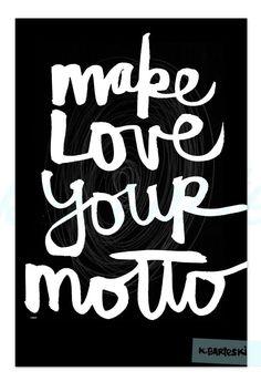 Yes. :: lettering by kal barteski