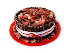Lekker Biltong Cakes Take the. - SAPeople - Your Worldwide South African Community Meat Cake, Biltong, Big Cakes, Cakes For Men, Party Treats, Cupcake Cookies, Cupcakes, Mason Jar Diy, Savoury Cake