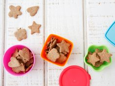 Wheat Germ Parmesan Crackers | Healthy Snack Recipes for Kids ...