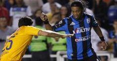 Ronaldinho ganó la Copa Libertadores 2013 con el Atlético Mineiro. (Reuters)