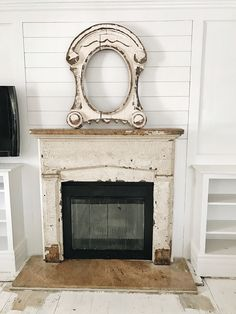 Absolutely Love Old Fireplace Vintage Surrounds Living