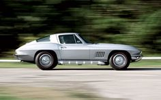 """A bit of background: On July 12, 1967, a nicely equipped Chevrolet Corvette coupe painted Silver Pearl with a black """"stinger"""" on the hood and equipped with an L36 390-horse big-block, side pipes, a close-ratio four-speed manual, a 3.55:1 Positraction rearend, A/C, and a few other goodies rolled off GM's St. Louis assembly line bearing serial number 122940 and with no cars behind it. This classic car road test brought to you by the automotive experts at Motor Trend Classic."""