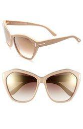 Tom Ford 'Angelina' 61mm Sunglasses