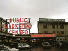 Pike's Place Markets: Thins to do in Seattle - USA travel tips!