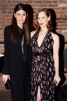 Giovanna Battaglia and Liz Goldwyn.
