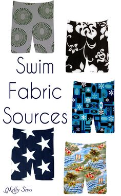 Where to get Board Short Fabrics - Mellysews.com