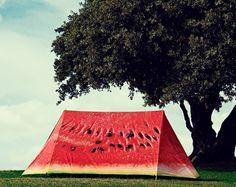 Watermelon tent on http://www.drlima.net