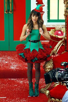 I would definitely wear this elf costume if I had the chance! It walks that fine line between flirty and fun very well.