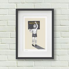 What a beautiful print. Search 'Awesome boy print' on dtll.com.au or click on the shopable link in our profile. #dtll #downthatlittlelane