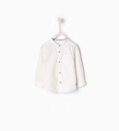 Mao collar shirt-MUST HAVES-Baby boy | 3 months - 3 years-KIDS | ZARA United States