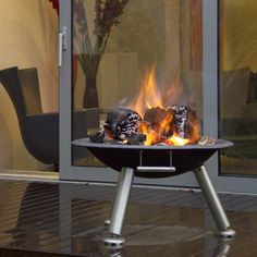 Grilltech terrace brazier/firepit - perfect for entertaining outside
