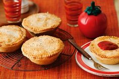 Warm yourself with our collection of savoury pies. We've got everything from traditional Aussie meat pies to Mexican tortilla pies. And if it's something sweet you're after, don't forget to check out our sweet pies & tarts recipe collection. Beef Chuck Steaks, Steak And Kidney Pie, Summer Pudding, Shortcrust Pastry, Sweet Pie, Top Recipes, Recipies, Winter Food, Tray Bakes