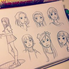 Anna Cattish #yuki #sketching