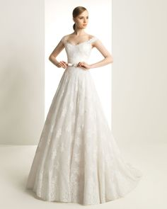 Robe romantique vaporeuse - Rosa Clara - #mariage #magnifique