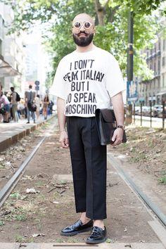STREETSTYLE | Milan Fashion Week SS15 Day#1