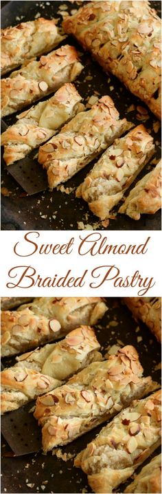 Sweet Almond Pastry: best served warm for breakfast!- Sweet Almond Pastry: best served warm for breakfast! Sweet Almond Pastry: best served warm for breakfast! Brunch Food, Brunch Recipes, Sweet Recipes, Breakfast Recipes, Dessert Recipes, Brunch Ideas, Mexican Breakfast, Breakfast Pastries, Breakfast Sandwiches