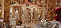 Gingerbread House at The Fairmont: San Francisco Holiday Hotel
