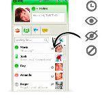 Os novos ícones de privacidade no ICQ 7.5 facilitam na gerência dos contatos online, bloqueados, invisíveis e pendentes.: http://twitpic.com/4n5obm