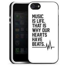 Music is life. That is why our hearts have beats. Silikon Case: 19,95€