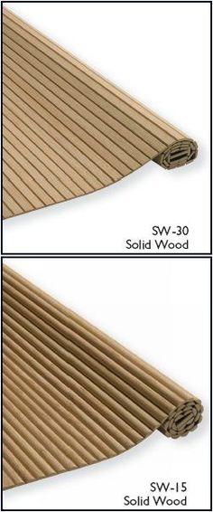 Solid Wood Tambour Doors