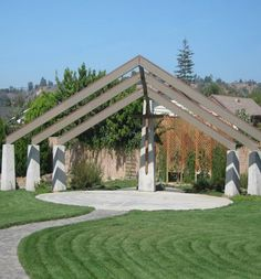 interesting outdoor chapel