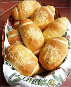Recipes, bakery, everything related to cooking. Croissant Bread, Bread Bun, Bread Rolls, Bread Recipes, Cake Recipes, Cooking Recipes, Salty Snacks, Hungarian Recipes, Bread And Pastries