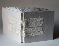 lace & silk embossed sketchbook