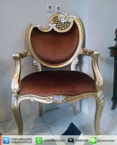 French Armchair in Gold and Silver Leaf Adinda. #KursiTamu finishing warna emas dan silver tempel.  We send it worldwide. Please contact us via: BBM : 7658A033 Call WA : 6281908021000 Inquiry : info@nusamebel.com Website : nusateak.com [en] / nusamebel.com [id]  #NusaMebel #Mebel #Meuble #MebelJepara #FurnitureJepara #MebelRumah #OfficeFurniture #ReproductionFurniture #LobbyChair #KursiMurah #KursiJati #FurnitureDesign #FurnitureInterior #LouisTable #LouisChair #HotelChair #TerraceChair…