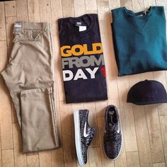 Gold Deeds Outfit of the Day