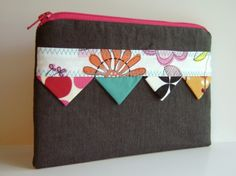 Cute case with bunting design