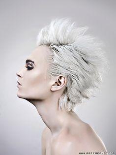 Bill Kaulitz: White Hair