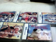 Nintendo Ds lot of 5 European Version will play in America My Pet hotel 2 more