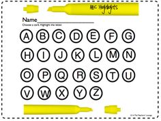 ABC Highlights from Cindylb on TeachersNotebook.com -  (13 pages)