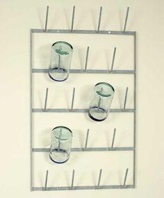 Wall Mounted Bottle Drying Rack