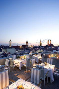 Le Cafe at Mandarin Oriental, Munich