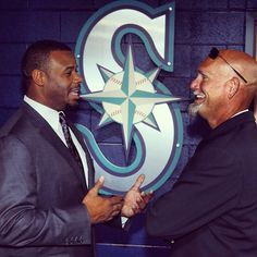 Long time teammates, all time friends. #Mariners