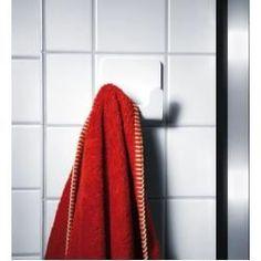 Handtuchhaken- Handtuchhaken Radius Puro towel hook glossy white for gluing Radius DesignRadius Design - Towel Hanger, Hanger Hooks, Towel Hooks, Towel Rack Bathroom, Bathroom Shelves, Diy Bathroom, Design Bathroom, Bathroom Remodeling, Bathroom Storage