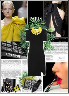 """""""Contemporary statement.with color-pop accessories"""" by jelena-stanojevic ❤ liked on Polyvore"""