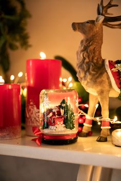 Santa Jar Snowglobe : A Beautiful Keepsake To Have For Years To Come. Mantle Piece, Diy Supplies, Christmas 2019, Garden Projects, Snow Globes, Wraps, Santa, Jar, Christmas Ornaments