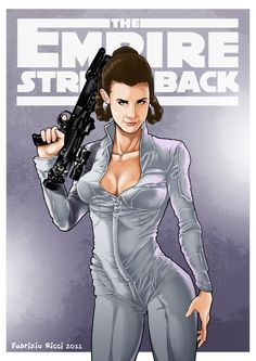 The Empire Strikes Back - Princess Leia by Fabrizio Ricci *