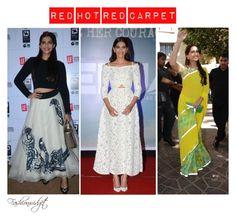 """Best Dressed February 2016 (Bollywood Edition): Sonam Kapoor"" by fashionwidget on Polyvore featuring Neerja"