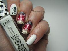 Euro 2016: nail art for the German NT