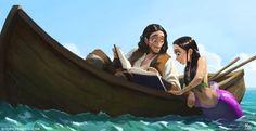 ArtStation - The Pirate & The Mermaid, Mauricio Abril